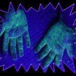 Infection control training UV gel