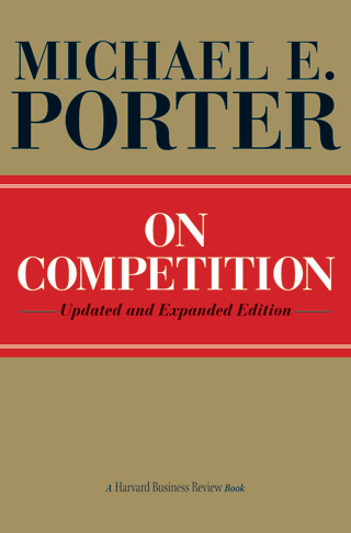 Porter's 5 forces - book cover