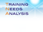 Training Needs Analysis graphic
