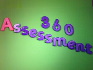 Image saying 360 assessments