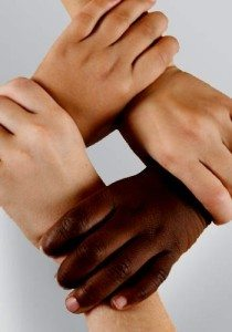 Hands showing partnership & collaboration
