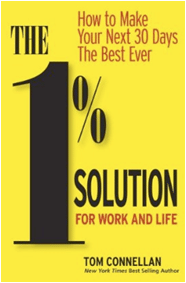 One percent solution book cover