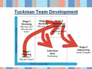 tuckman team management model