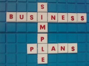 Business plan graphic