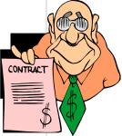 career contract future cartoon