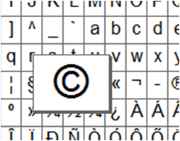 copyright character image