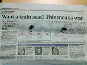 Want a seat? Why training does not work newspaper article jtransport behaviour