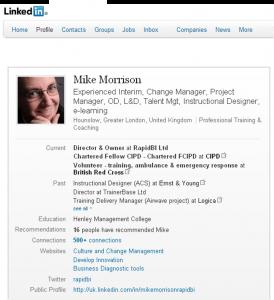 linkedin-profile-mikemorrison I won't connect to you on LinkedIn