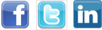 twitter facebook linkedin social networks