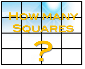 How many squares - seeking potential