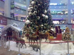 UAE christmas Grotto 2011