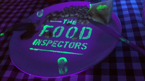 Food Inspectors, hand hygiene, infection control