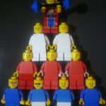 collaboration or teamwork - minifig