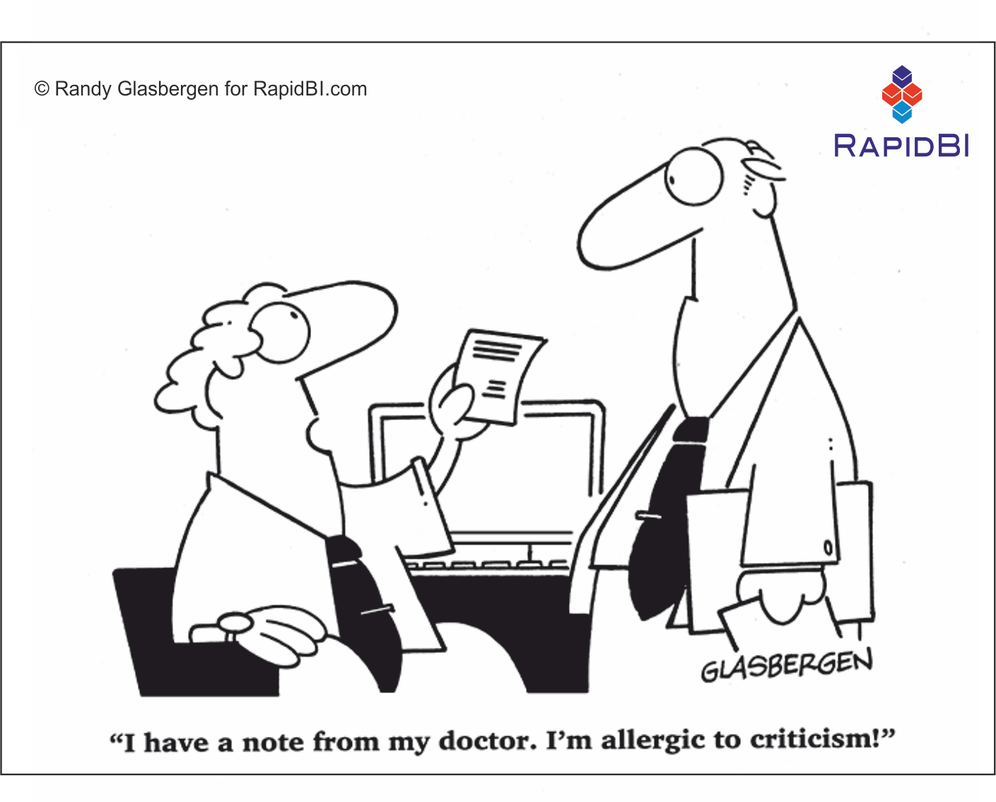 RapidBI Daily Cartoon #10