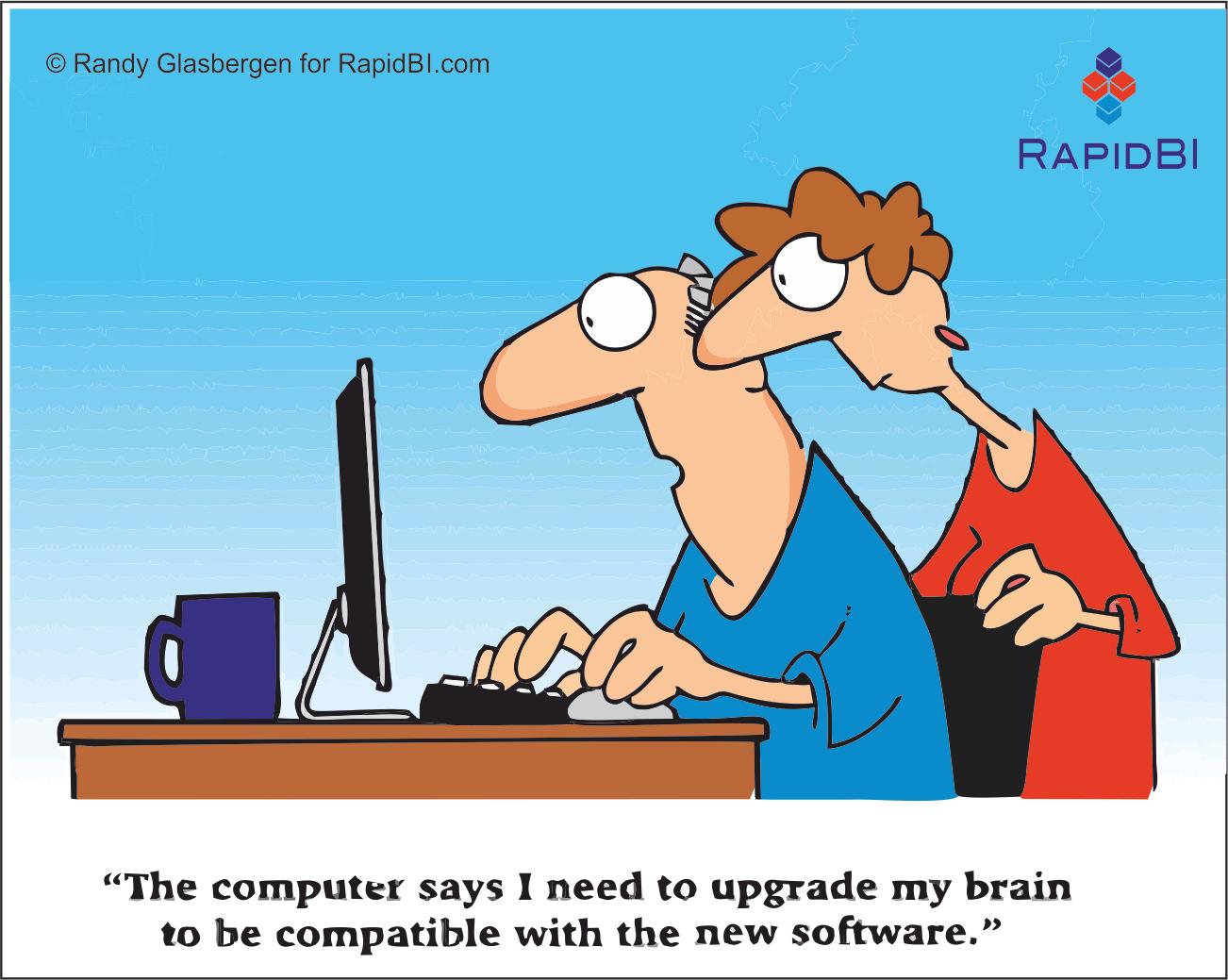 RapidBI Daily Cartoon #16