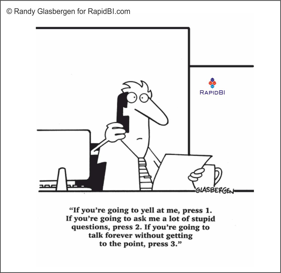 RapidBI Daily Cartoon #54