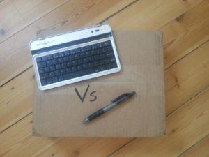 pen vs keyboard, which is mightier?