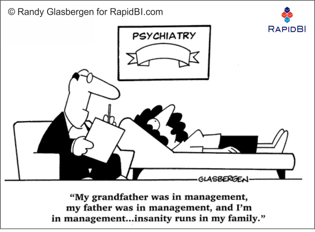 RapidBI Daily Business Cartoon #124