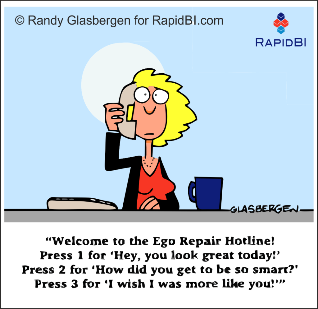 RapidBI Daily Business Cartoon #127