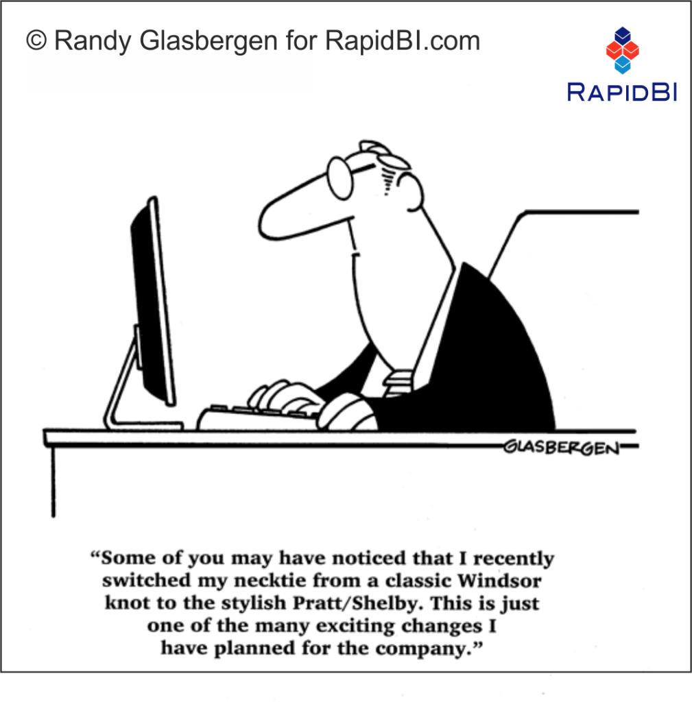 RapidBI Daily Business Cartoon #150