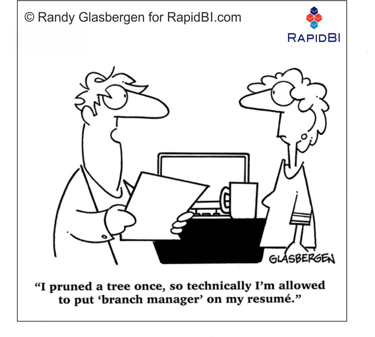 RapidBI Daily Business Cartoon #163
