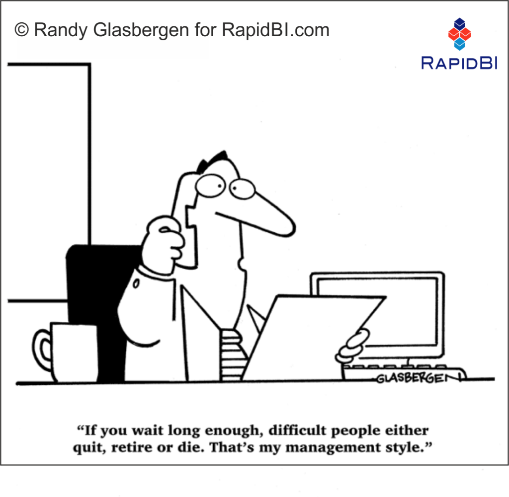 RapidBI Daily Business Cartoon #164