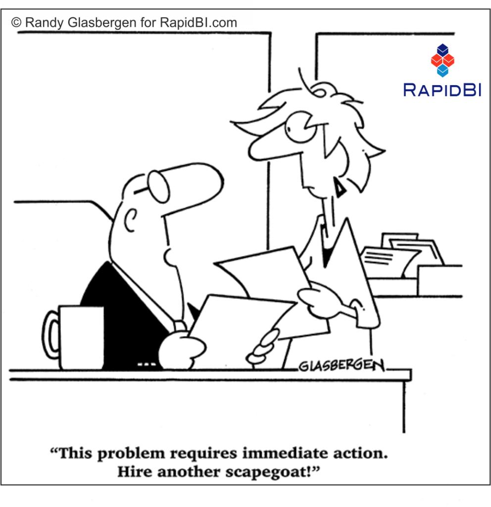 RapidBI Business Cartoon #179