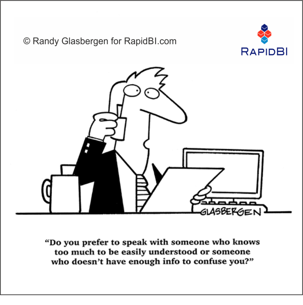RapidBI Daily Business Cartoon #208