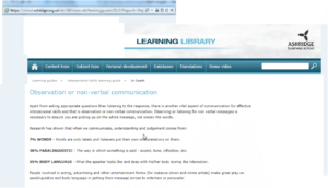business-school-learning-Library-communications myth