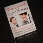 Book Cover Win friends and customers by Lawrence Bookbinder