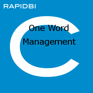 One Word Management