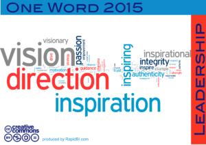 one-word-2015-leadership