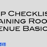 21 Tip Checklist – Basic requirements of a Training Room/ Venue Basics