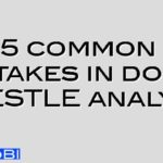 5 common mistakes in doing a PESTLE analysis
