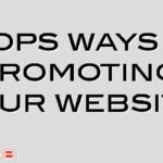 7 tops ways of promoting your website
