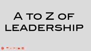 A to Z of leadership