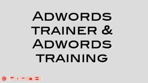 Adwords trainer & Adwords training