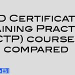 CIPD Certificate in Training Practice (CTP) courses compared