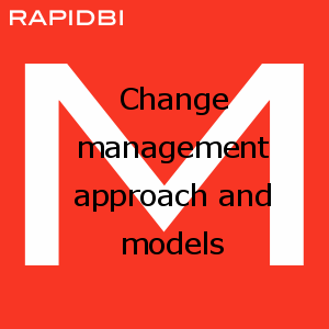 Change management approach and models