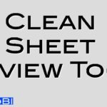 Clean Sheet Review Tool