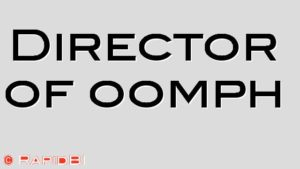 Director of oomph