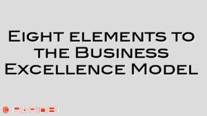 Eight elements to the Business Excellence Model