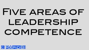 Five areas of leadership competence