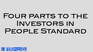 Four parts to the Investors in People Standard