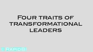 Four traits of transformational leaders