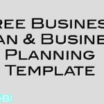 Free Business Plan & Business Planning Template