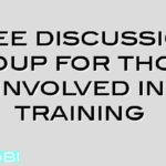 Free discussion group for those involved in training