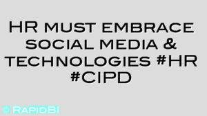 HR must embrace social media & technologies #HR #CIPD
