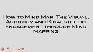How to Mind Map: The Visual, Auditory and Kinaesthetic engagement through Mind Mapping