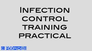 Infection control training practical